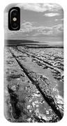 Burren Limestone Landscape In Ireland IPhone Case