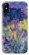 Burst Of Color-last Night In Monets Gardens IPhone Case