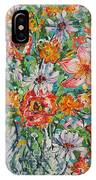 Burst Of Flowers IPhone Case