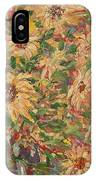 Burst Of Sunflowers. IPhone Case