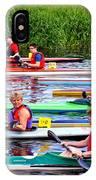 Burton Canoe Race At The Start IPhone Case