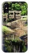 Buschman Park Bridge IPhone Case