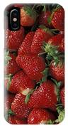 Bushel Of Strawberries IPhone Case