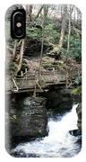 Bushkill Falls Boardwalk 1 IPhone Case