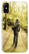 Bushwalking Tasmania IPhone Case