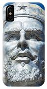 Bust Of Che Guevara In La Higuera IPhone Case