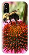Busy Coneflower IPhone Case