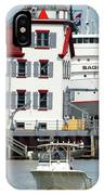Busy Harbor Of Lorain IPhone Case