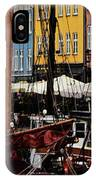 Busy Nyhavn IPhone Case