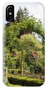 Butchart Gardens Arches IPhone Case