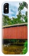 Butchers Mill Covered Bridge IPhone Case