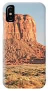 Butte, Monument Valley, Utah IPhone Case