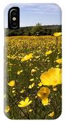 Buttercup Field IPhone Case