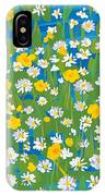 Buttercups And Daisies IPhone Case