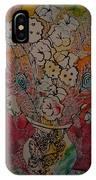 Butterflies And Flower IPhone Case