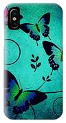 Butterflies At Dusk IPhone Case