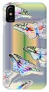 Butterflies In The Vortex IPhone Case