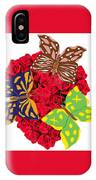 Butterflies On Roses IPhone Case