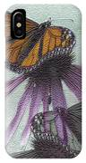 Butterflies Under Glass IPhone Case