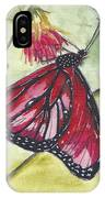 Butterfly 12 IPhone Case