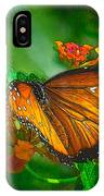 Butterfly 30 IPhone Case