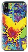 Butterfly All Aglow IPhone Case