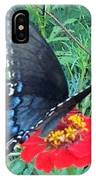 Butterfly And Flower IPhone Case