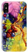 Butterfly And Grapes IPhone X Case