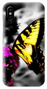 Butterfly And Lilac IPhone Case