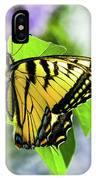 Butterfly And Lilacs IPhone Case
