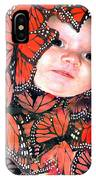 Butterfly Baby IPhone Case