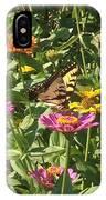 Butterfly Breakfast IPhone Case