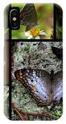 Butterfly Collage 1 IPhone X Case