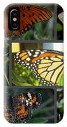 Butterfly Collage 2  IPhone X Case