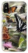 Butterfly Collage IPhone Case