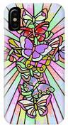 Butterfly Cross IPhone Case
