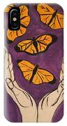 Butterfly Glory IPhone Case