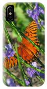 Butterfly In Blue IPhone Case