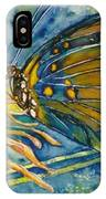 Butterfly In Ca IPhone Case