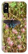 Butterfly In Clover IPhone Case
