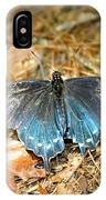 Butterfly In The Forest IPhone Case
