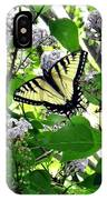 Butterfly In The Lilac No. 1 IPhone Case