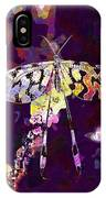 Butterfly Insect Black White  IPhone Case
