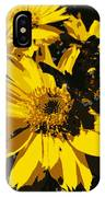 Butterfly On Balsamroot IPhone Case