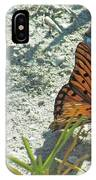 Butterfly On Beach IPhone Case