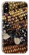 Butterfly On Indian Corn IPhone Case