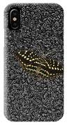Butterfly On Stone IPhone Case