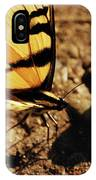 Butterfly On The Rocks IPhone Case