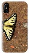 Butterfly On The Sand Two  IPhone Case