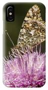 Butterfly On Thistle IPhone Case